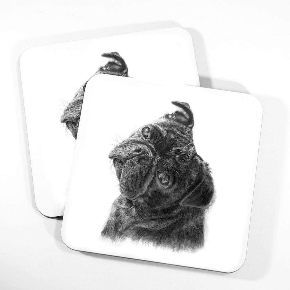 Pug Coasters