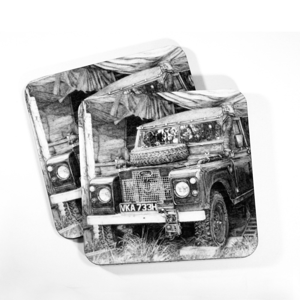 Land Rover Coasters
