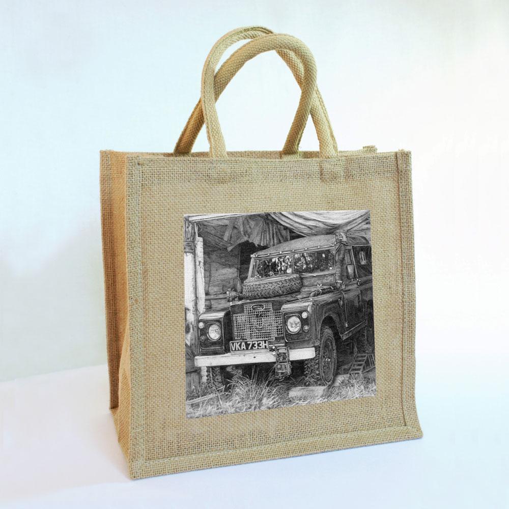 Land Rover Jute Bag