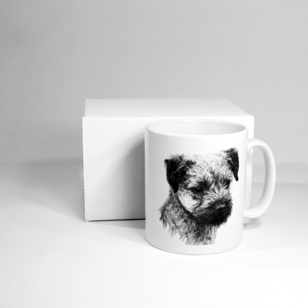 Border Terrier Ceramic Mug
