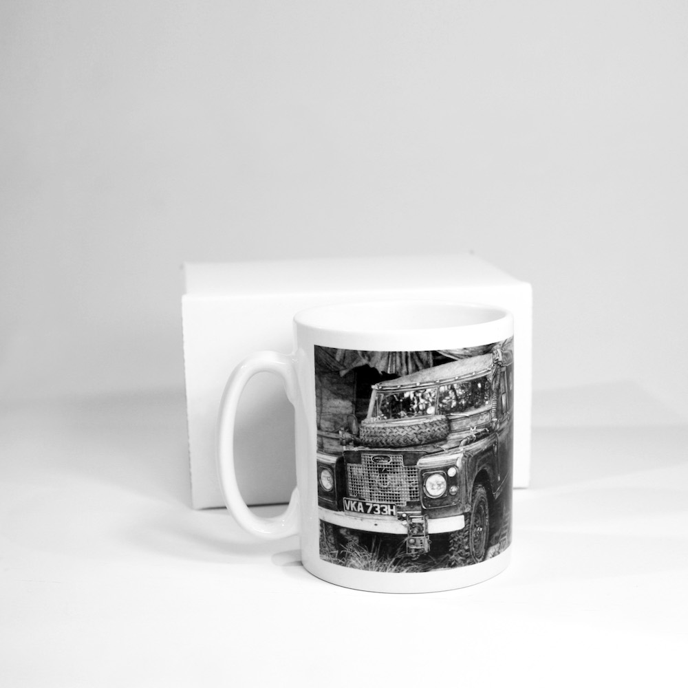Land Rover Ceramic Mug
