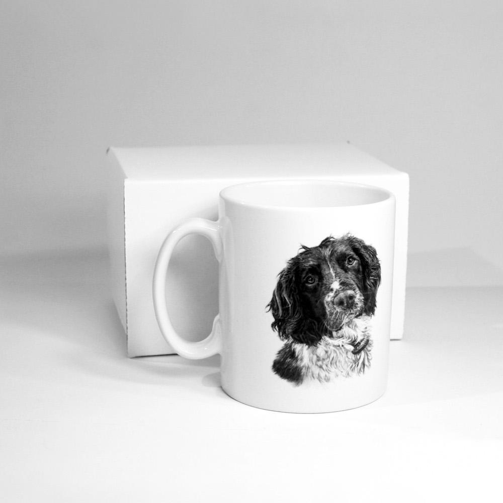 Springer Spaniel Ceramic Mug