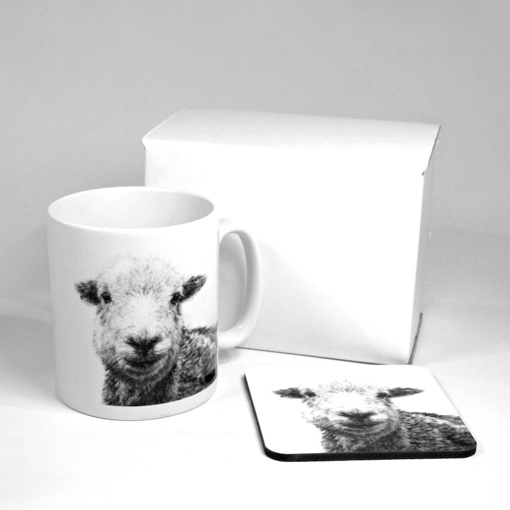 Herdwick Mug & Coaster