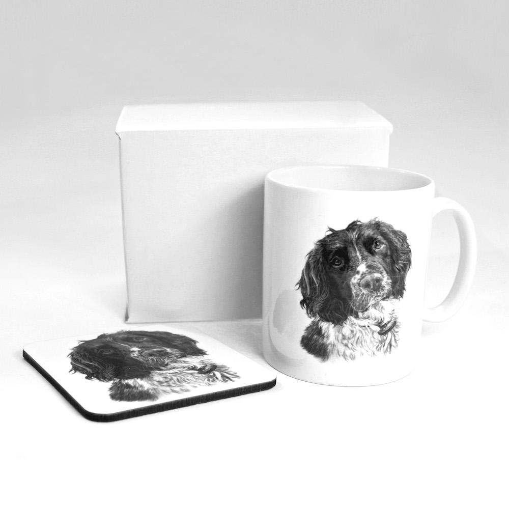 Springer Spaniel Mug & Coaster