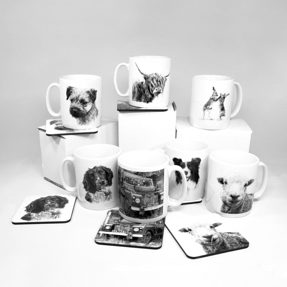 MUG AND COASTER SETS