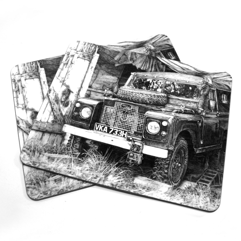 Land Rover Placemat