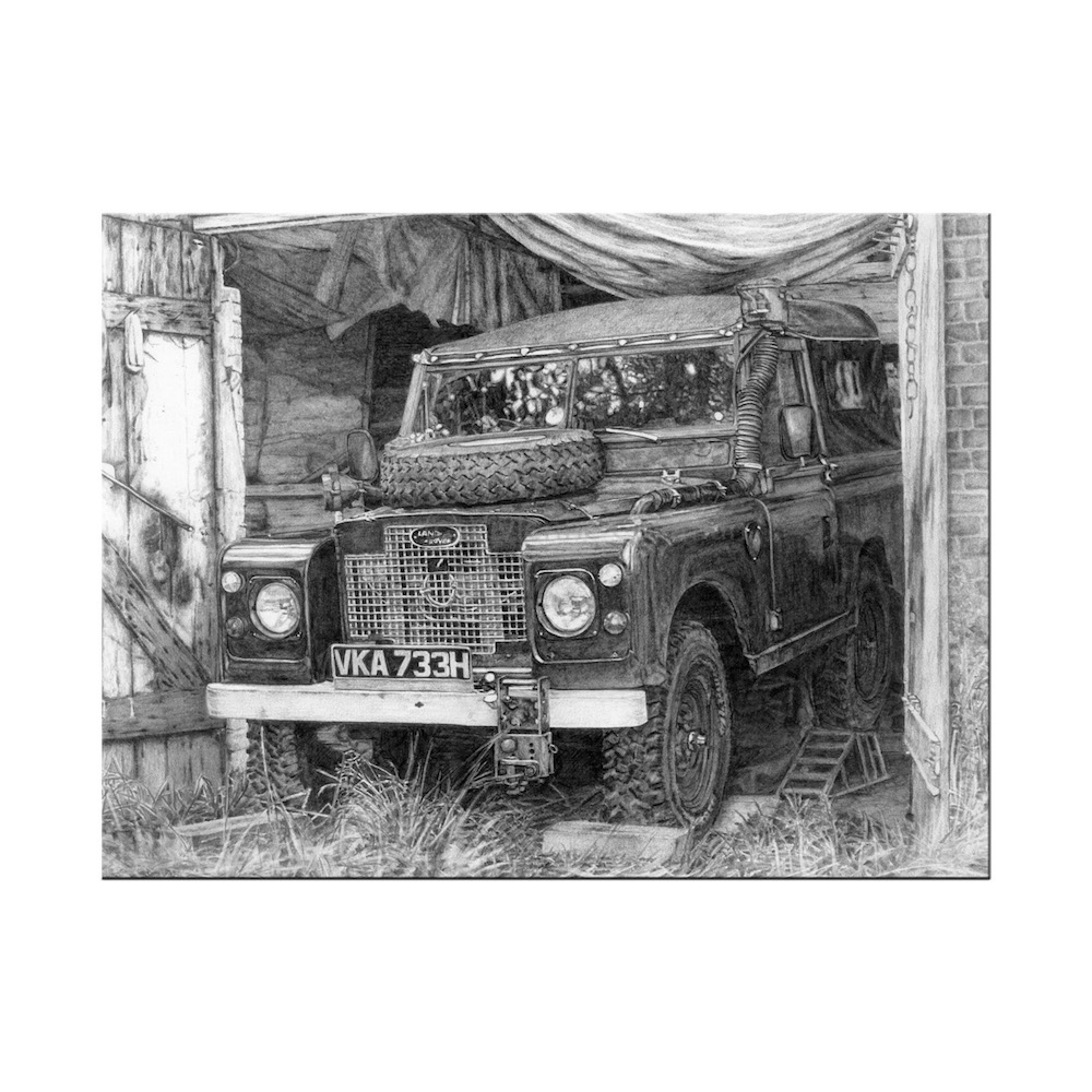 Land Rover Print