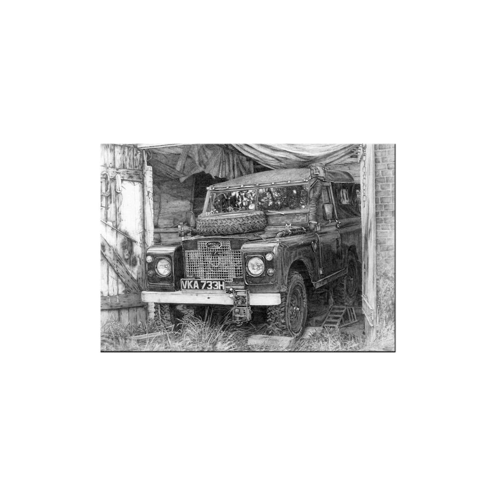 Land Rover Print