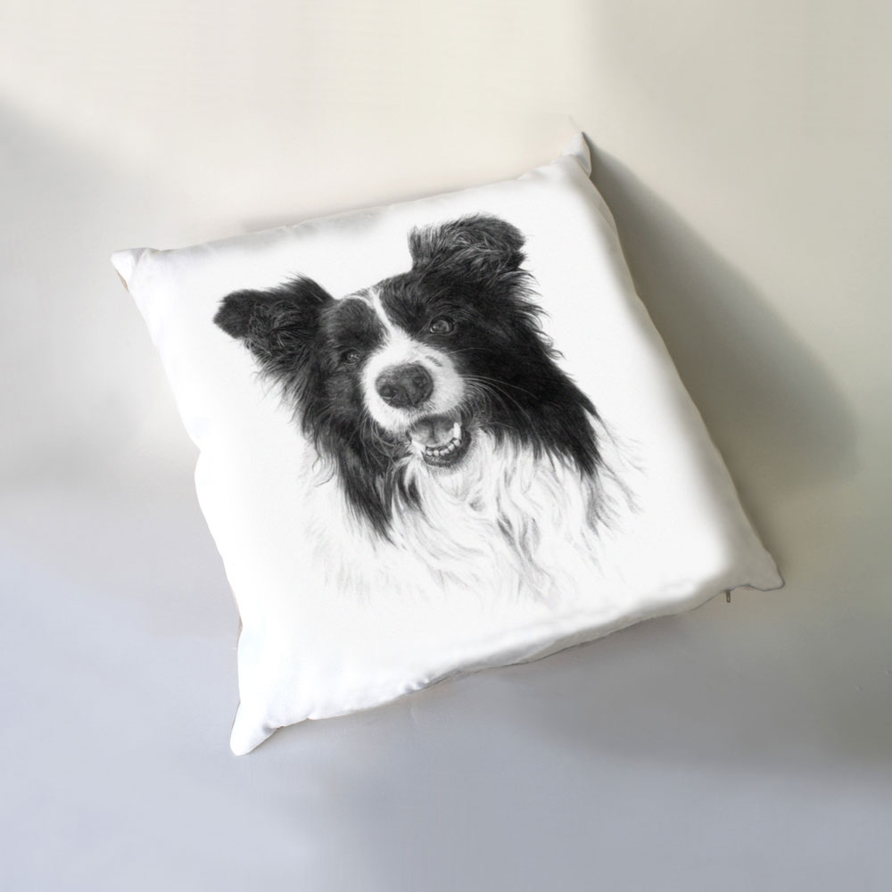 Border Collie Luxury Cushion