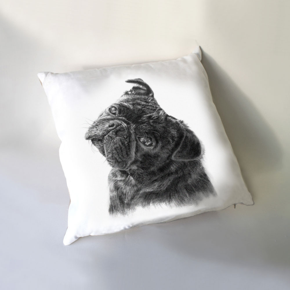 Pug Luxury Cushion