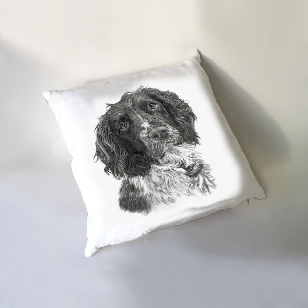 Springer Spaniel Luxury Cushion